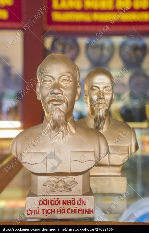 vietnam, hanoi., souvenir, ho, chi, minh, büste - 27682166