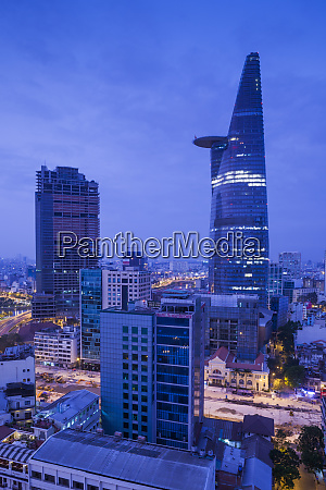 vietnam ho chi minh city elevated