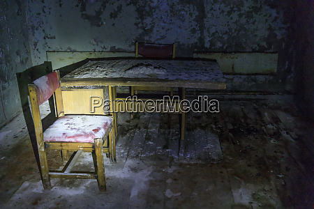ukraine pripyat tschernobyl polizeistation
