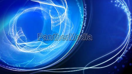 glaenzende blaue licht effekt hintergrund abstrakte