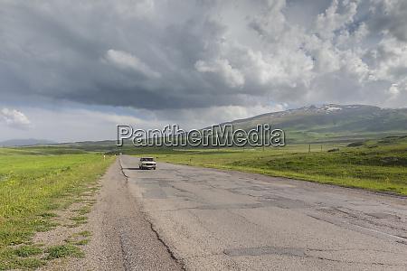 armenia alagyaz mountain highway