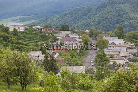 armenia shaumyana village in spring