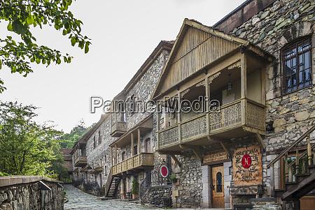 armenia dilijan old dilijan buildings