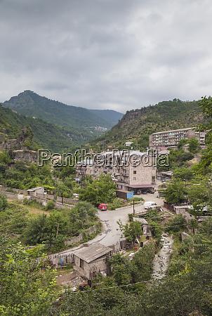 armenien, debed, canyon, akhtala., stadtansicht. - 27686938