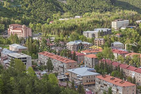 armenia jermuk town view