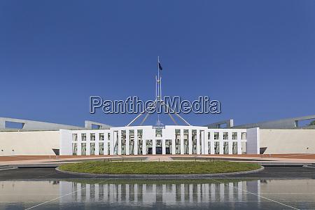 australien canberra parlament tagsueber