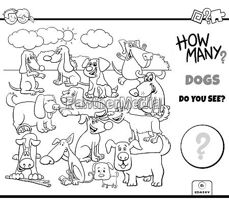zaehlen von hunden und welpen paedagogische