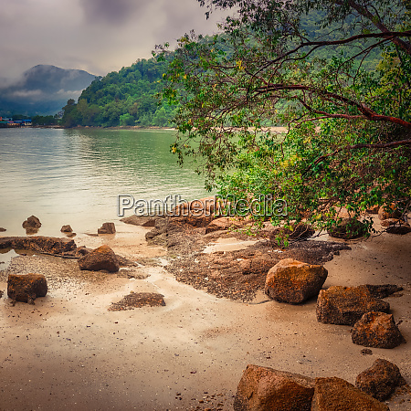 penang nationalpark malaysia panorama