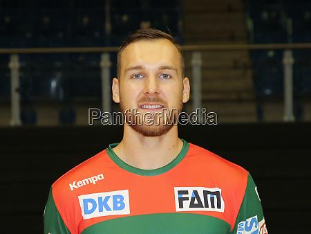 handballspieler christian osullivan sc magdeburg liqui