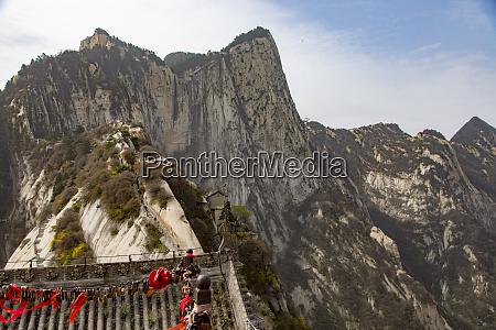 mt huashan xian shaanxi province china