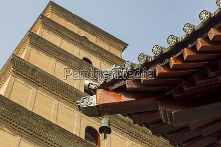 wild goose pagoda 652 tang dynasty