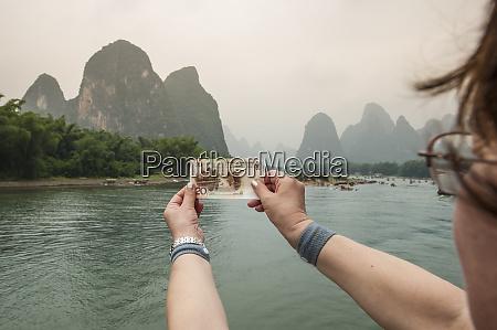 cruising on the li river guilin