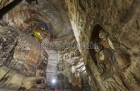 china shanxi province datong ancient buddhist