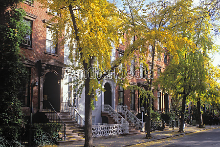 leroy street in greenwich village manhattan