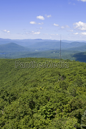 overlook mountain in the catskills woodstock