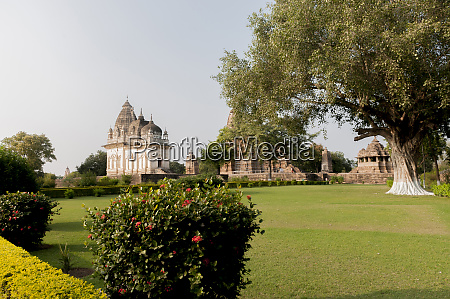 indien khajuraho madhya pradesh state tempel