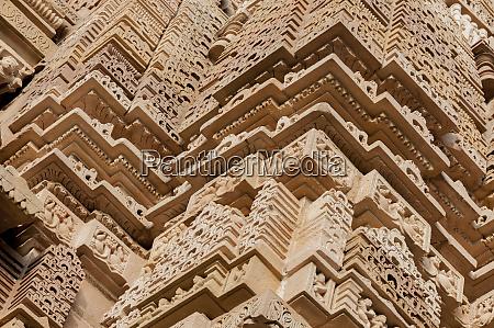indien khajuraho madhya pradesh state temple