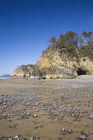 or oregon coast hug point tidal