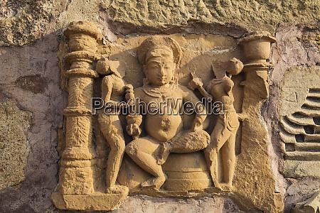 erotische skulpturen von khajuraho madhya pradesh