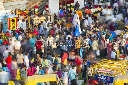blumenmarkt kr market bangalore bengaluru karnataka