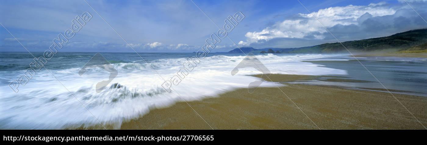 usa, oregon, buena, vista, ocean, wayside, state, park. - 27706565