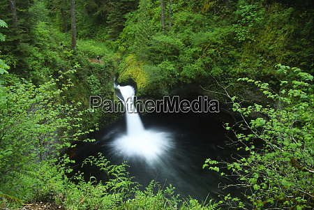 punchbowl falls on eagle creek columbia
