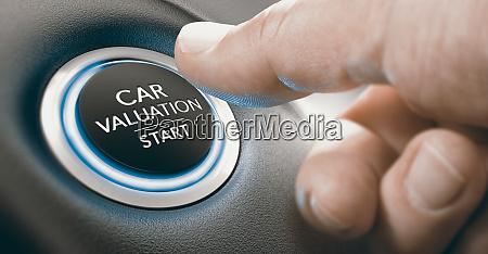gebrauchtwagenbewertungskonzept wie viel ist ein fahrzeug