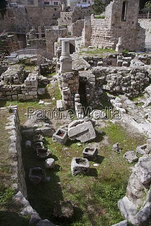 landmark pool of siloam within jerusalems