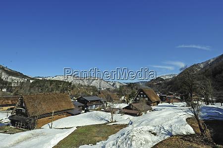 japan gifu prefecture shirakawa go village