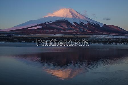 japan honshu island mt fuji and