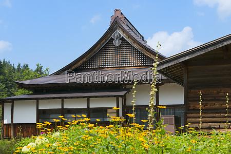 traditional house shirakawa go gifu prefecture