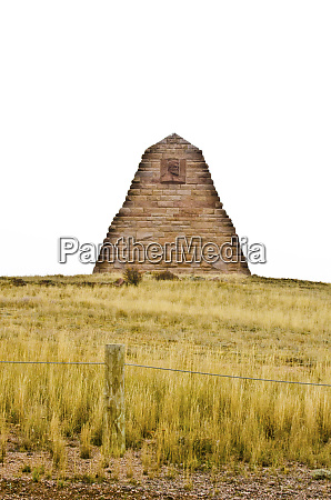 usa wyoming laramie ames monument dedicated