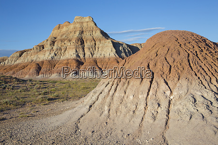 wyoming sublette county badlands landscape