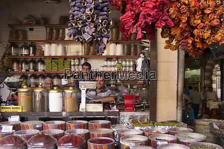 turkey gaziantep medina spice market old