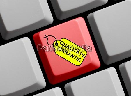 computertastatur mit tag mit qualitaetsgarantie