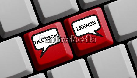 deutsch lernen in deutscher sprache