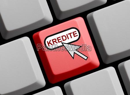 rote computer tastatur darlehen in deutscher