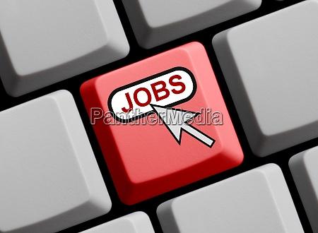 rote computertastatur jobs