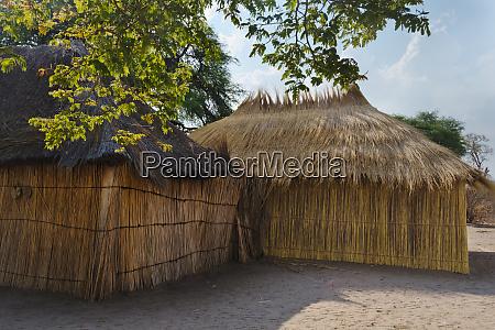 traditionelles haus kwando traditional village sambesi