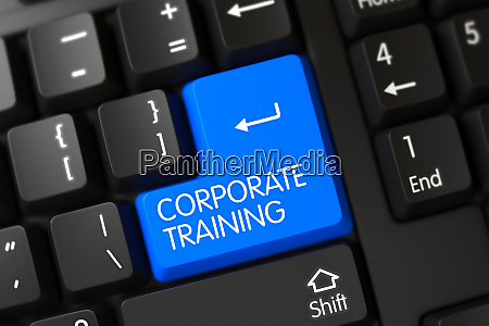 tastatur mit blue key corporate