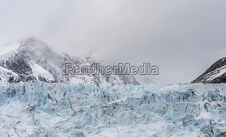 glaciers of drygalski fjord at the