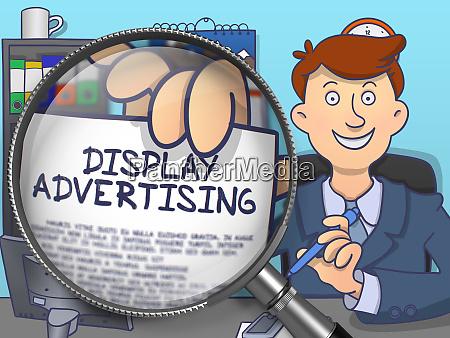 display werbung durch objektiv doodle design