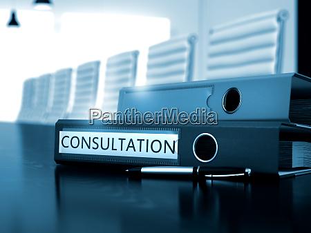 konsultation zu office folder verschwommenes bild
