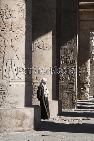 egypt pom ombo an egyptian man