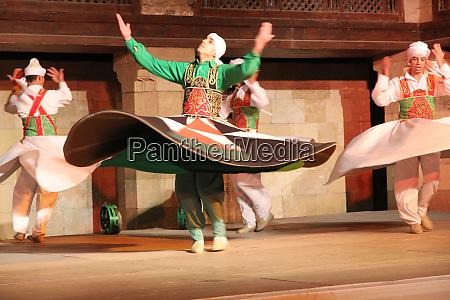 egypt cairo egyptian sufi tanoura dancer