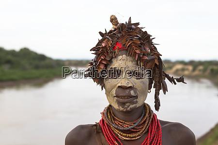 africa ethiopia southern omo karo tribe