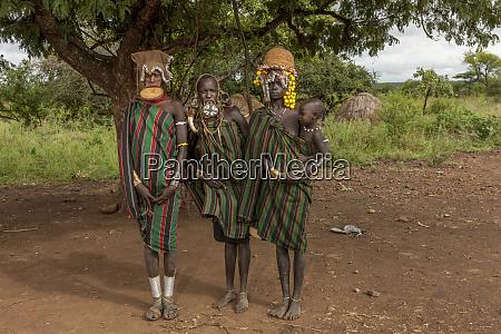 mursi tribe militia village mago national
