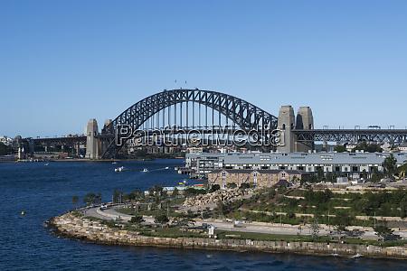 australia sydney waterfront view of harbour