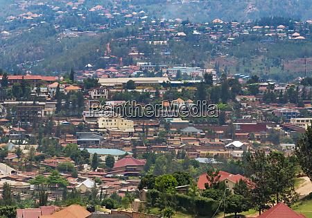 stadtbild kigali ruanda