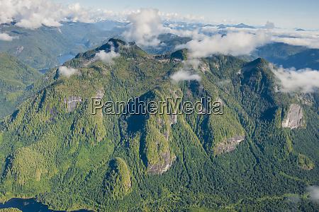 coastal scenery in great bear rainforest